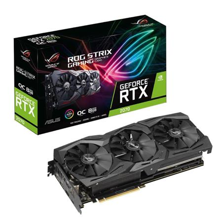 VGA GEFORCE RTX 2070 8GB GDDR6 ROG ASUS STRIX
