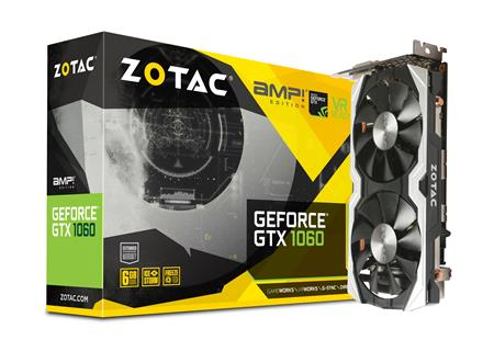 VGA GEFORCE GTX 1060 6GB GDDR5 AMP! Edition ZOTAC