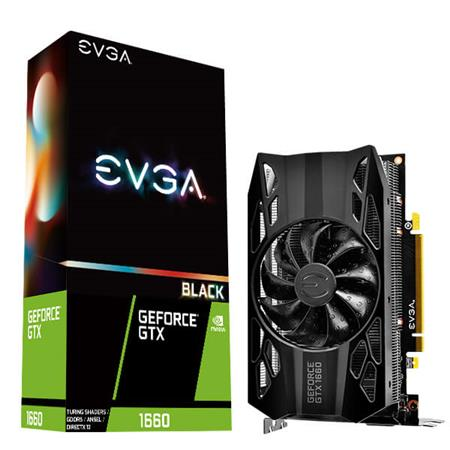 VGA GEFORCE GTX 1660 6G BLACK GAMING EVGA