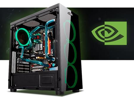 PC INTEL MASTER RACE  INTEL CORE I7 9700 Z370 16GB DDR4 RX 570 8GB GDDR5 750W 80+ Z20 RGB