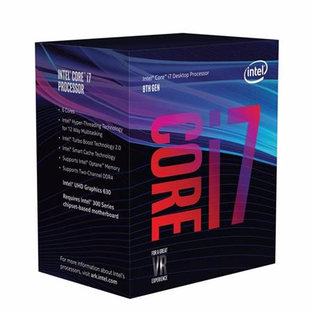 CPU INTEL 1151 CORE I7 8700