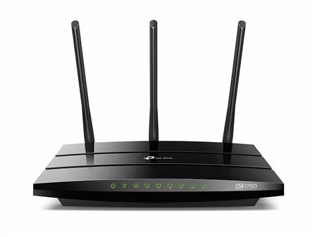 ROUTER WIRELESS TP-LINK ARCHER C7 AC1750 DUALBAND GIGABIT