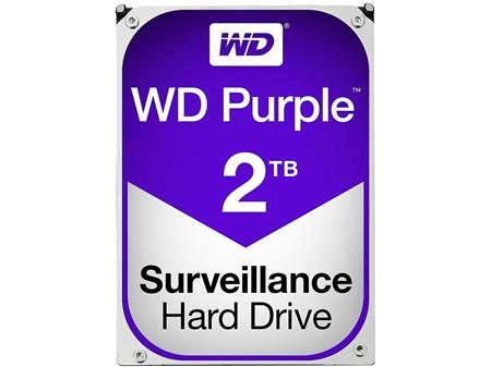 HD 3.5 SATA3 2TB WD PURPLE