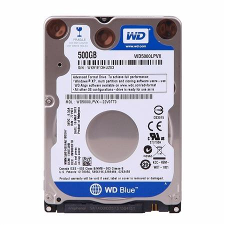 HD NOT SATA3 500GB WD BLUE