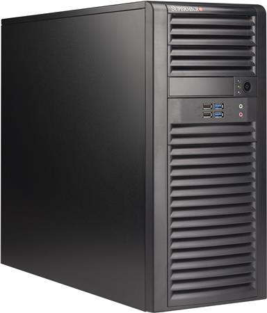 SUPERMICRO CHASIS TOWER CSE-723D4-500B 500W 80+ Bronze