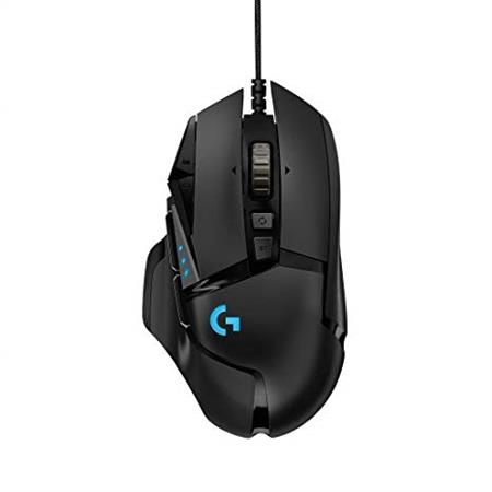 MOUSE LOGITECH G502 HERO GAMING RGB