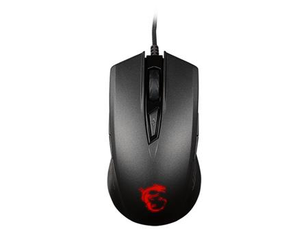 MOUSE MSI CLUTCH GM40 BLACK GAMING