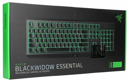 TECLADO GAMER RAZER BLACKWIDOW ESSENTIAL GREEN SWITCH