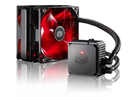 COOLER CPU COOLER MASTER SEIDON 120V PLUS RED LED