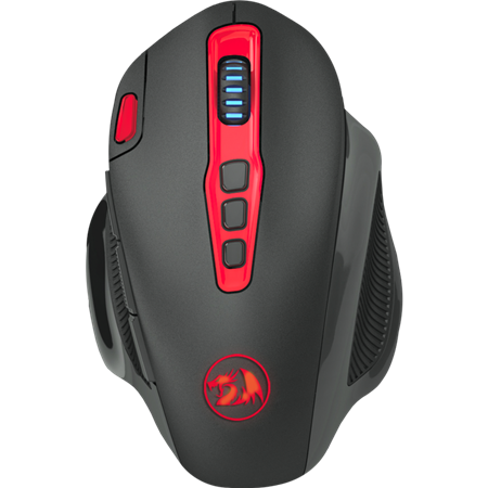 MOUSE INALAMBRICO REDRAGON M688 SHARK 2.4GHZ 7200DPI