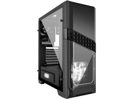GABINETE ATX AZZA TITAN 240 BLACK TEMPERED